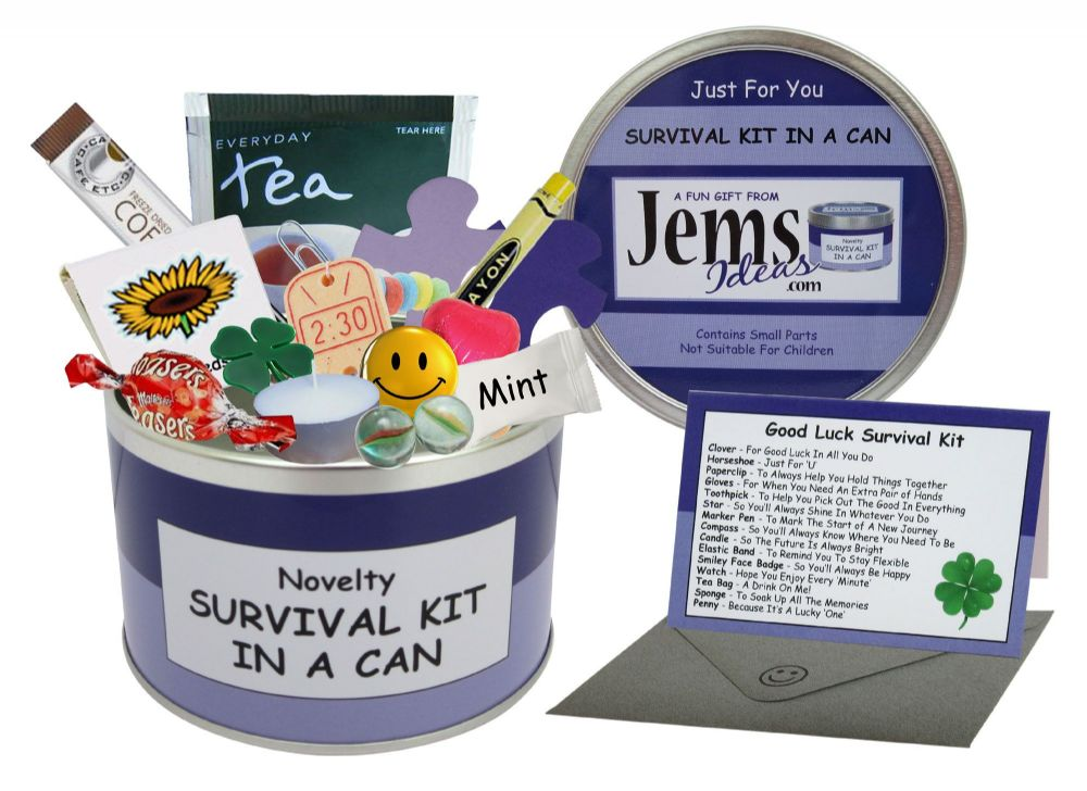 Good Luck Survival Kit In A Can